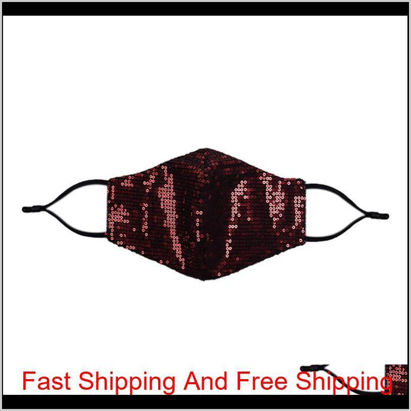 Fashion Bling Bling Sequins Cycling Protective