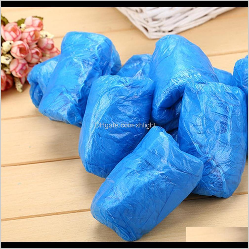 household protective shoe covers disposable shoe boot covers waterproof non-slip resistant durable prevent wet shoes covers