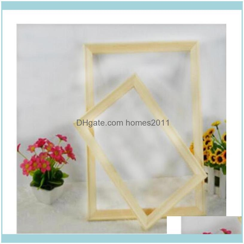 Frames DIY Wooden Frame Painting By Numbers Calligraphy Modern Wall Art Picture Coloring For Home Decor RS214