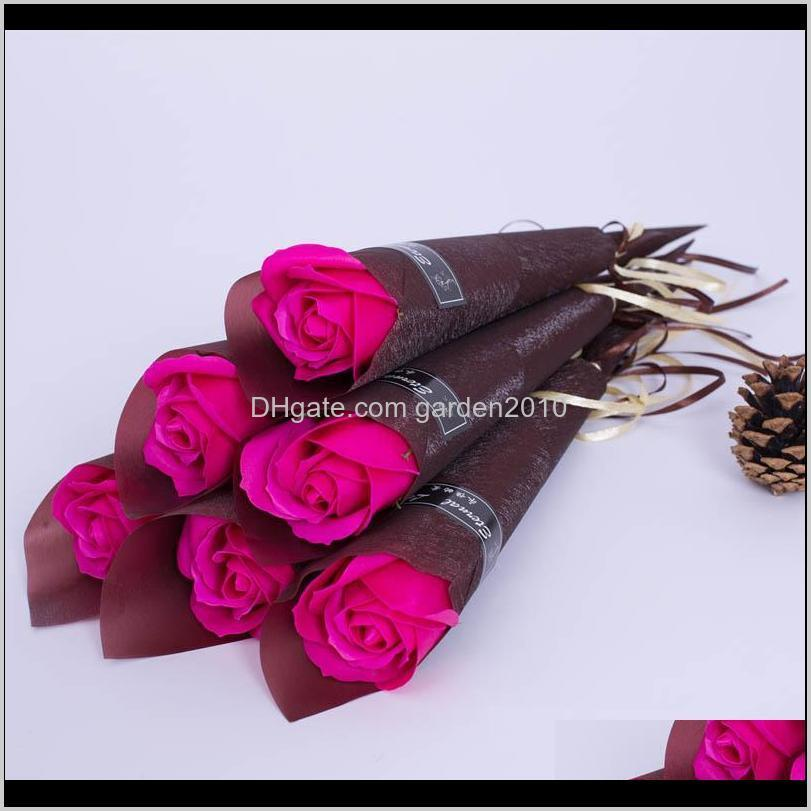 new 16cm valentine single rose carnations flowers mother`s day gift best valentine`s day gift artificial flowers 1pcs/lot