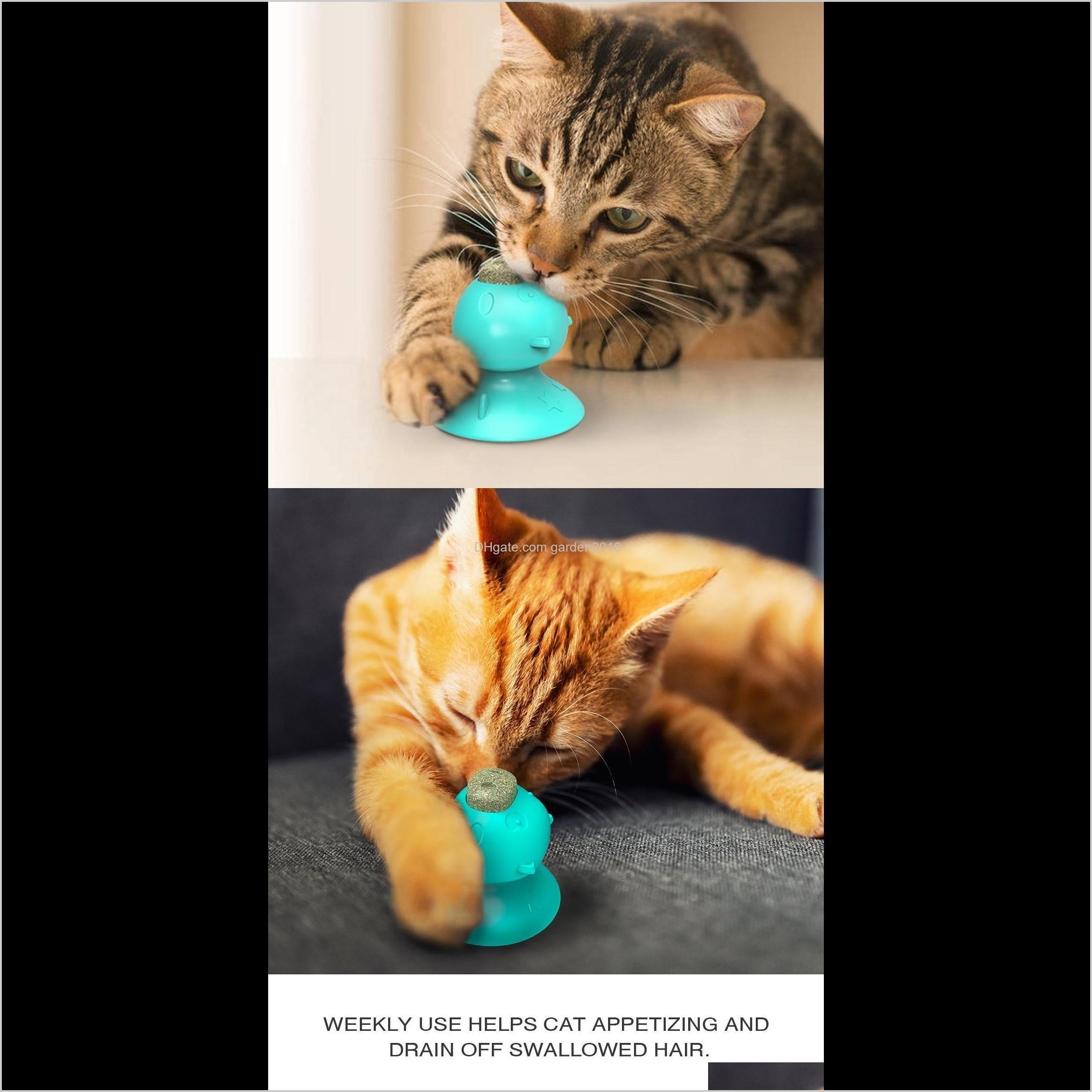 multi pet cat lick odontoprisis toys mint licking molar suction cup resistance to bite cat toys & chews dog pet supplies ha286
