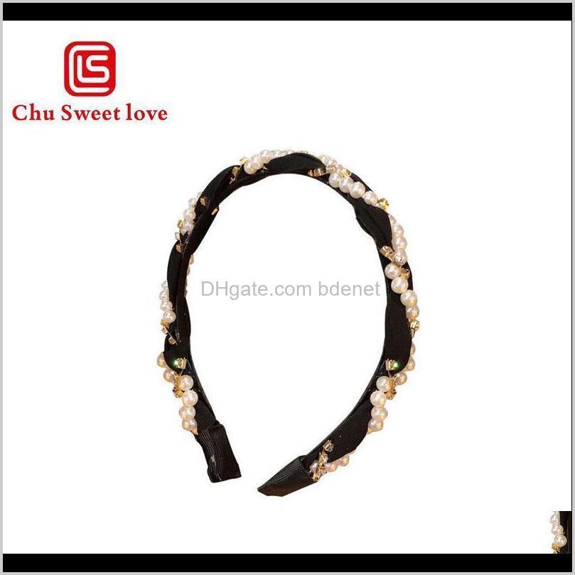 women imitation pearl hair band girls fashion hair accessories women headband wedding birthday party bridal hoop head wear