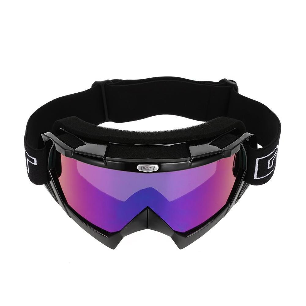 motorcycle motocross goggles windproof outdoor sport cycling skiing glasses soft and thick sponge design, comfortable to use