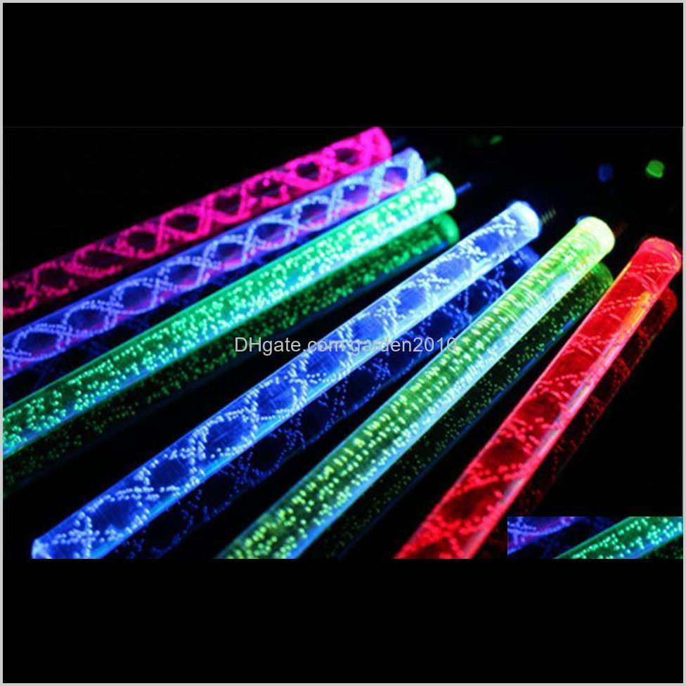 new popular led cheer glow sticks colorful changed flash wand for kids toys christmas concert birthday party supplies