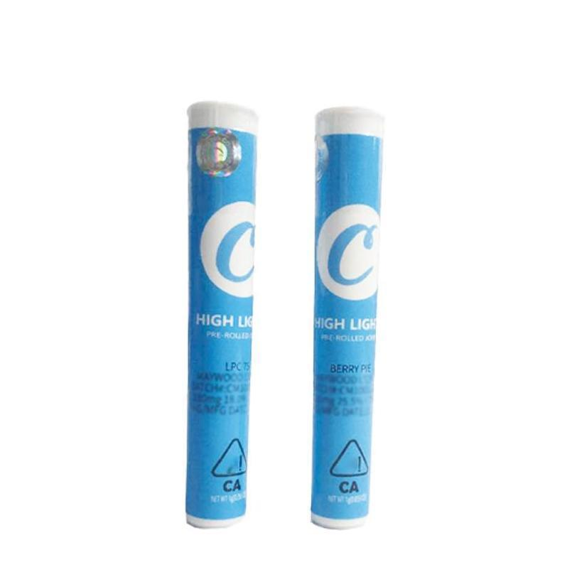 custom clear tube childproof cookies runtz jungle boys pre-roll joint pre roll tubes packaging