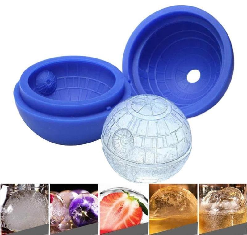 round ball cream creative silicone sphere cube molds tray bar party cocktail fruit juice drinking ice maker mould dhd2577