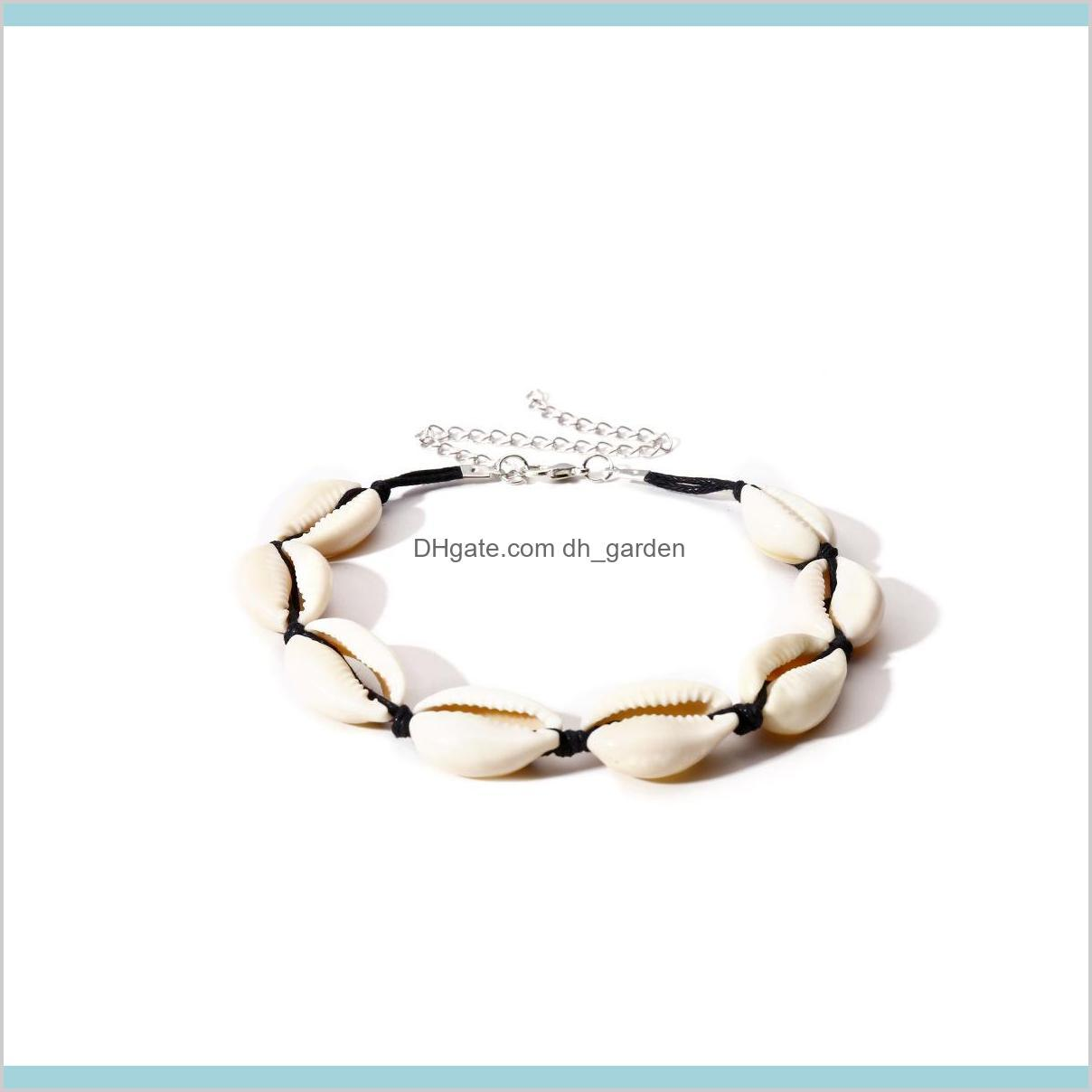natural shell bracelet anklet chain jewelry women bracelets charm bracelet new fashion bracelet fashion jewelry 20201