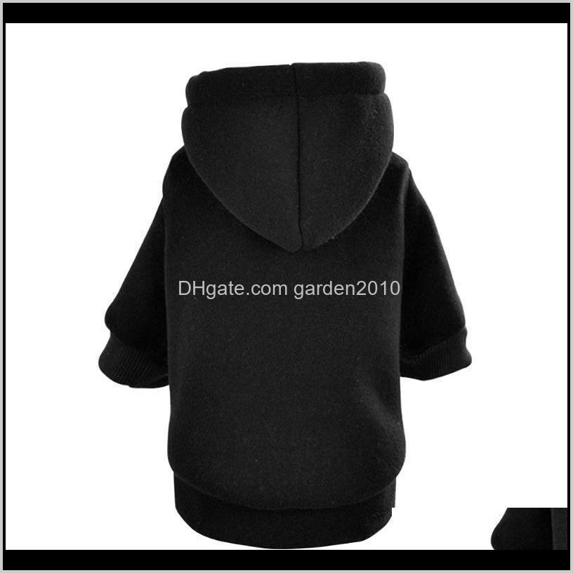 fashion pet supplies costume coats dog hoodie autumn warm hooded cat jacket puppy clothes solid overall sweatshirt winter