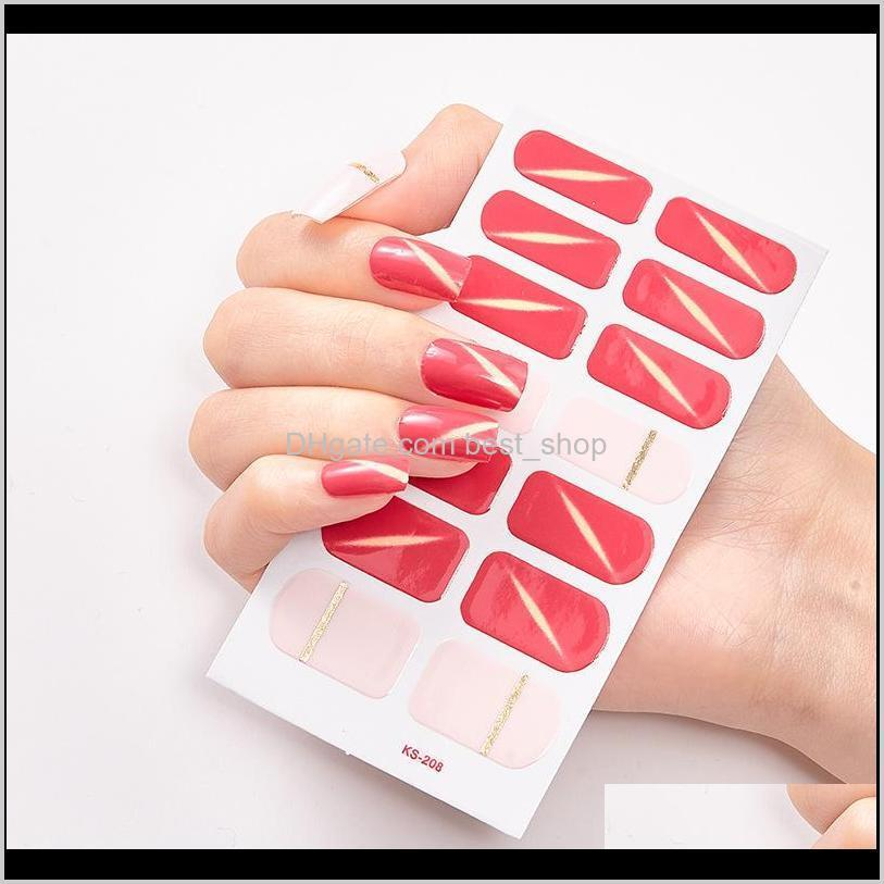fashion nail art polish sticker multi pattern creative 3d stereo manicure decoration decal hot stamping nails art stickers 0 7ss l2