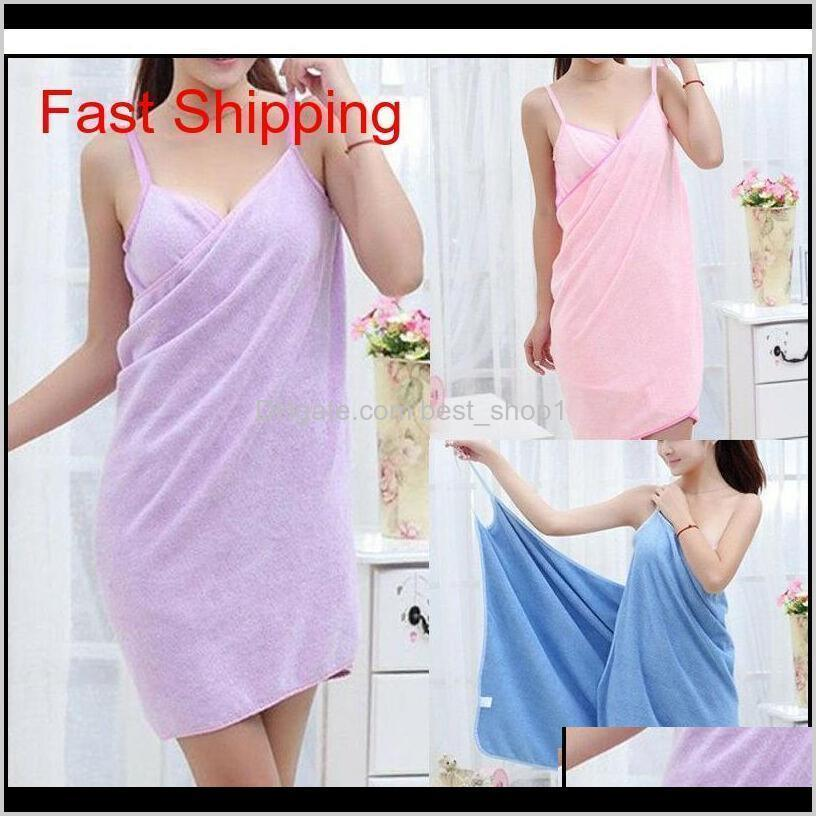 home textile towelwomen robes bath wearable towel dress girls women womens lady fast drying beach spa magical n qylycr
