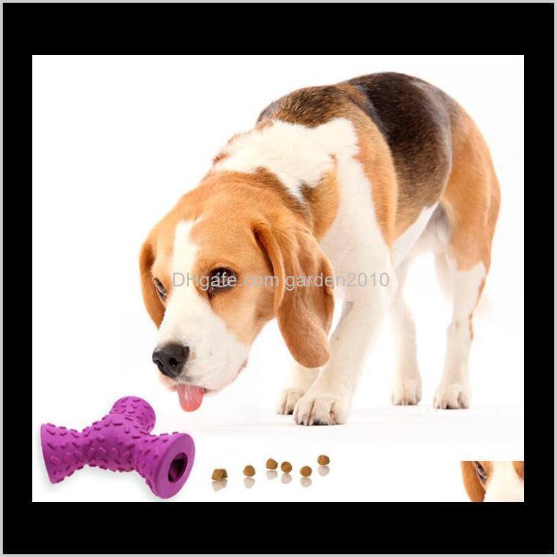 latex trihedron odontoprisis leakage food toys natural emulsion multi clean teeth pet toys & chews dog pet supplies ha303