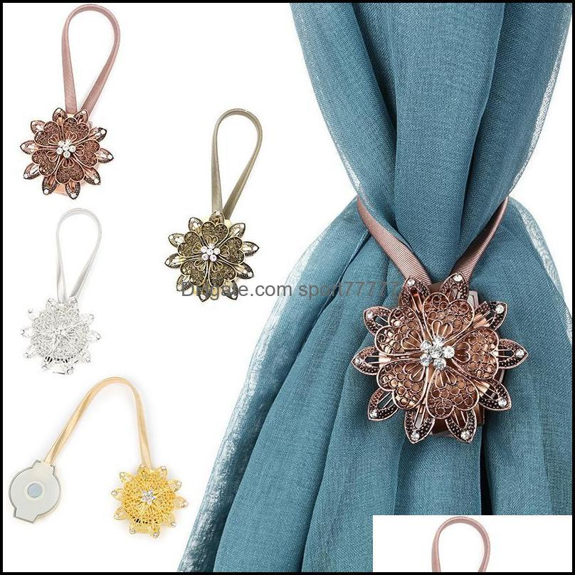 Magnet Curtain Tieback Buckle Holder Holdbacks Curtains Clips Strap Home Decor Magnetic Tiebacks For Other
