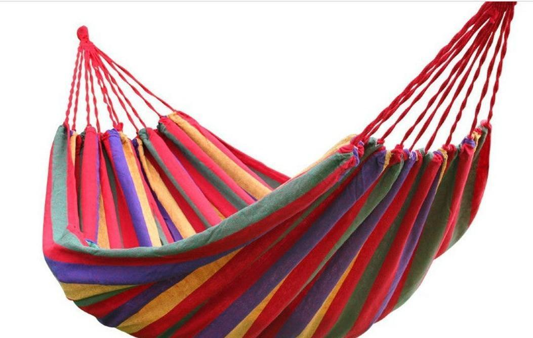 hot selling150 kg load-bearing outdoor garden hammock hang bed travel camping outdoor sleeping