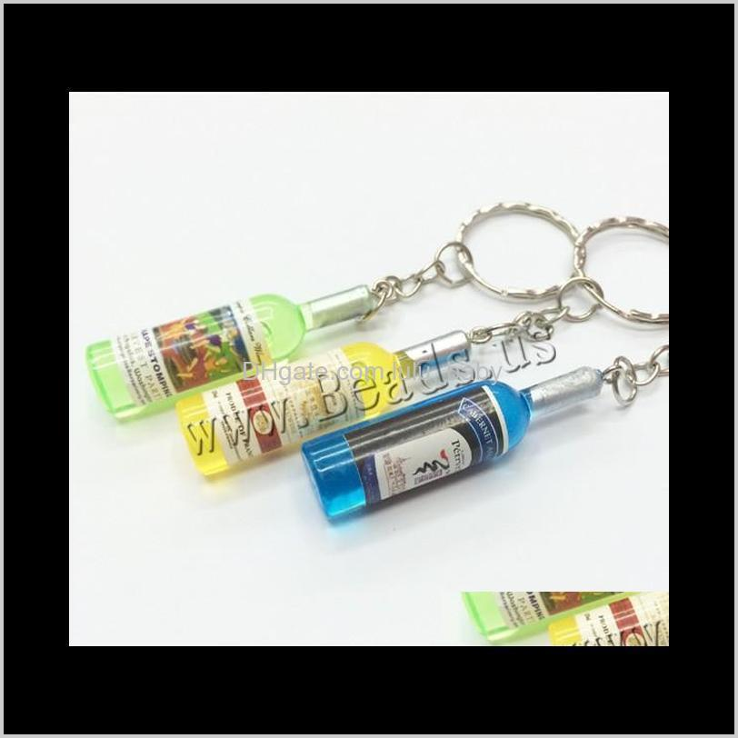 couple keychain car key ring pendant key chain phone connected to a mobile phone beer bottle 5cm