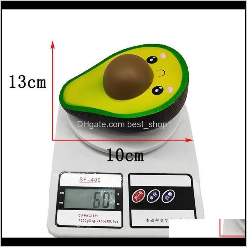 squeeze ball new squishies simulated avocado slow rising cream scented stress relief toys cute dolls high quality squeeze ball gwf5618