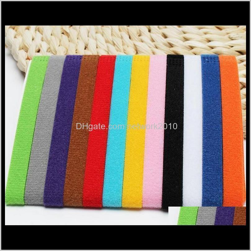 puppy id collar identification id collars band for whelp puppy kitten dog pet cat velvet practical 12 colors wholesale