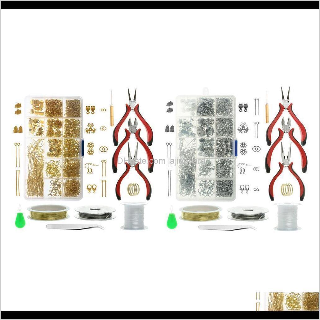jewelry making tools set repair kit findings supplies pliers beading wire tools jewelry making casual styles wmtqhg