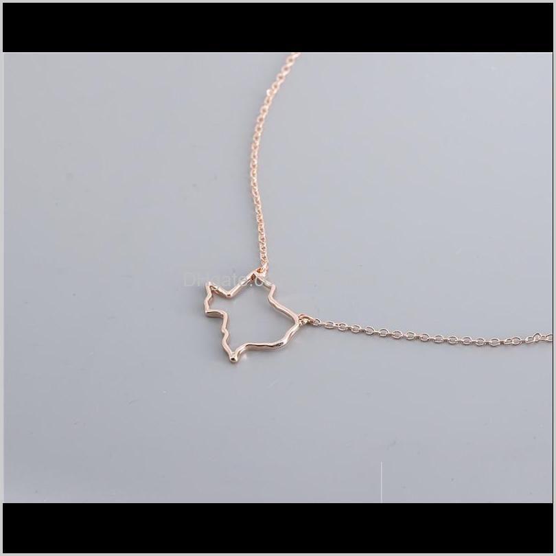 10pcs outline usa texas state map bracelet simple geometric hollow geography open line earth globe world american tx city bracelets