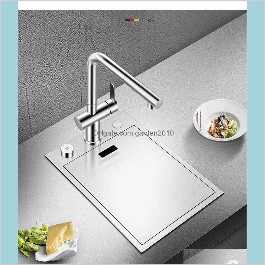 Handmade Brushed kitchen Sink 304 Stainless