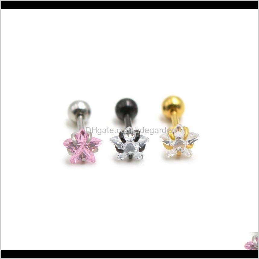 nose hoop rings earrings stud lip rings piercings body jewelry for women men anti-allergy