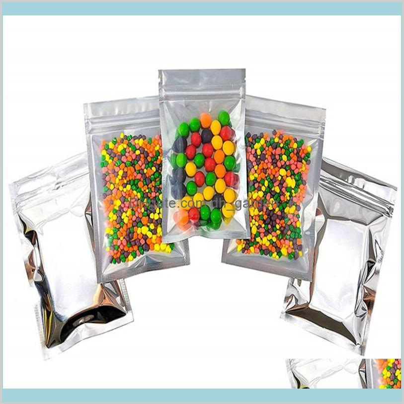 Plastic Aluminum Foil Resealable Zipper Packaging