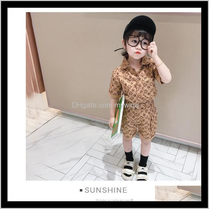 clothing sets baby clothes designers clothes kids girls clothes designers tracksuits printed children shorts sleeve sport