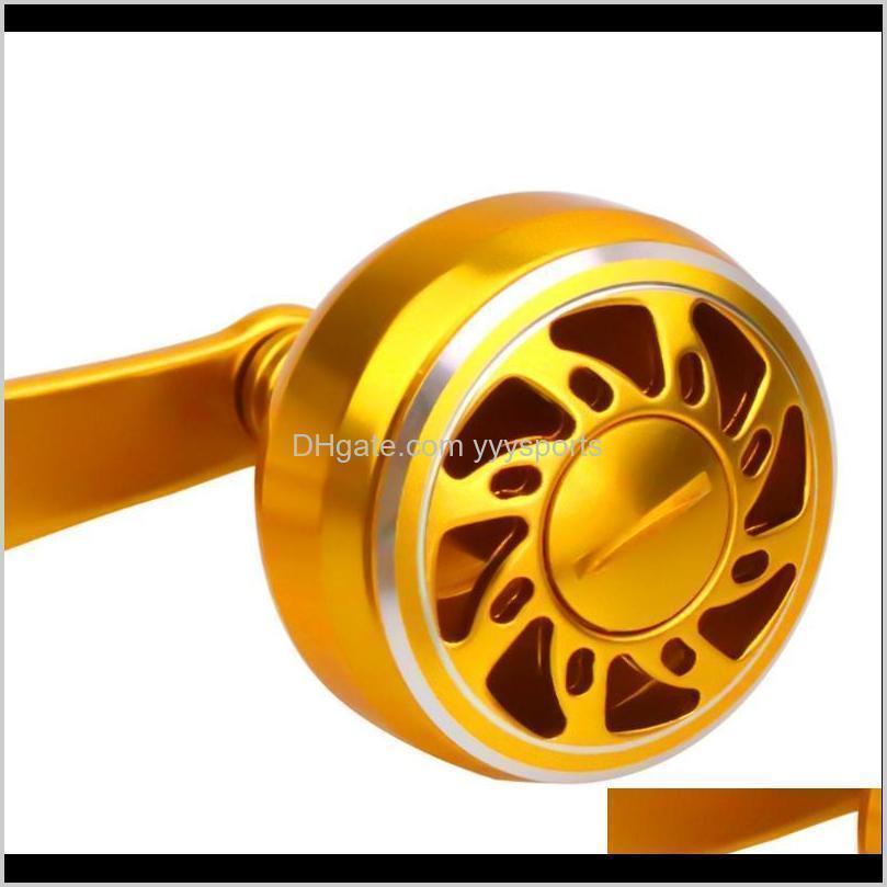 rocker drum wheel drop wheel modified single rocker arm handle 8*5mm aluminum alloy fishing reel single arm