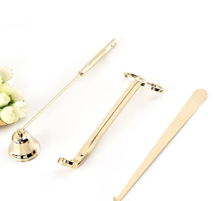 candle accessory set 3pcs/lot candle tool kit candles snuffer trimmer hook great gift for scented candles lovers