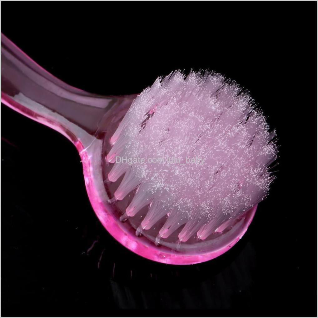 high quality 1pcs soft bristle brush scrub exfoliating facial brush face care cleaning wash cap wholesale