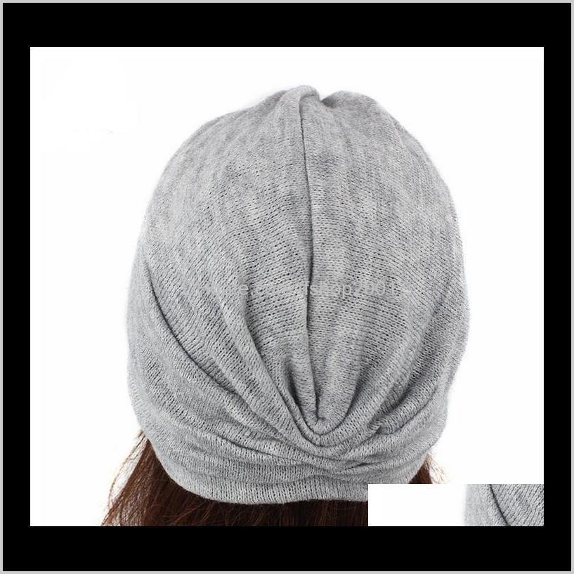 2020 new women hats caps turban hats dome cap head wrap hair loss cancer headwrap muslim chemotherapy alopecia caps