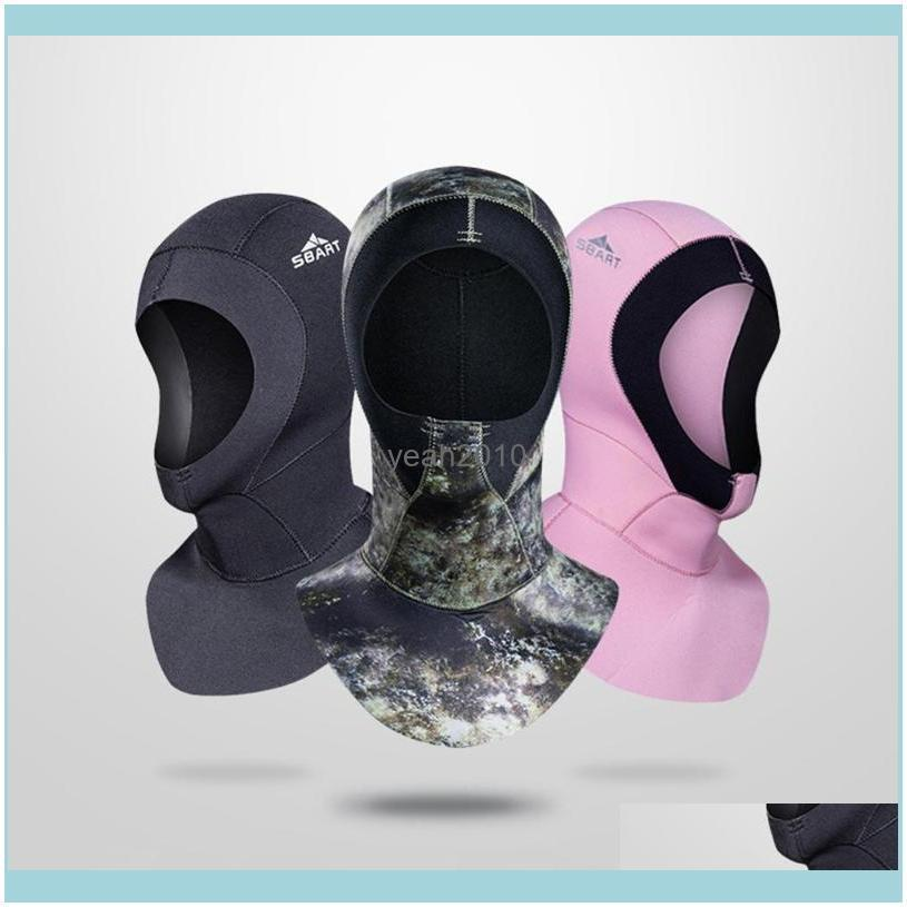 Diving Hood For Surfing Kayaking Sailing Canoeing Water Sports Winter Swim Warm Wetsuit Durable Dive Masks