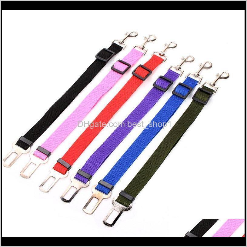 dog collars leads vehicle car dog seat belt pet dogs car seatbelt harness lead clip safety lever auto traction products