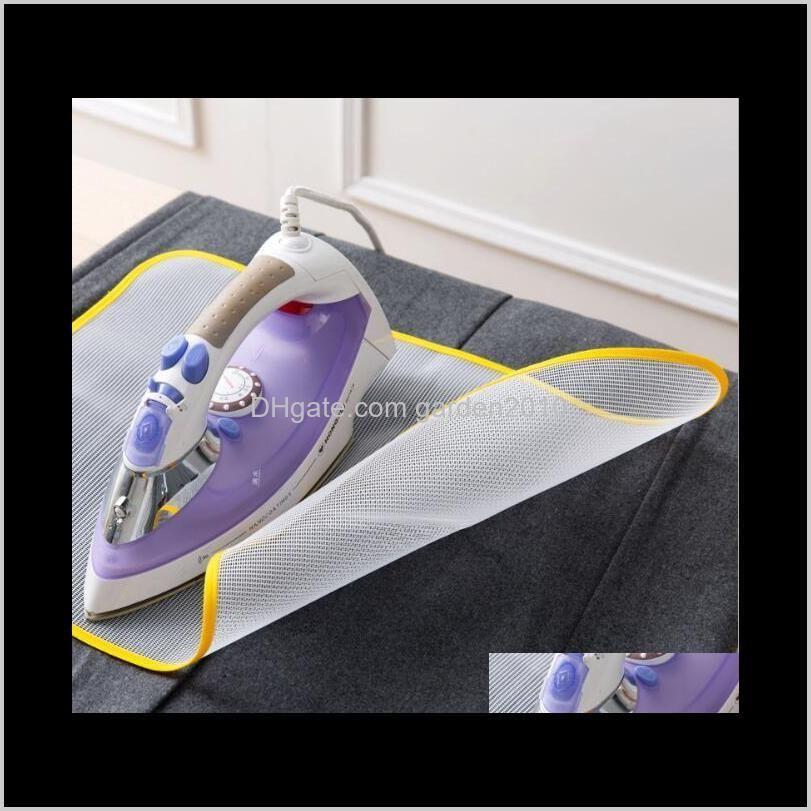 high temperature resistance ironing cloth heat insulation cloth nylon mesh ironing boards clothing racks housekeeping & organization