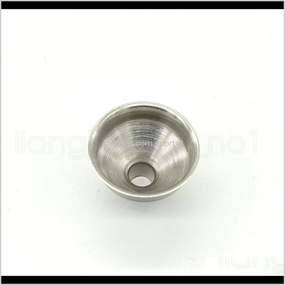 stainless steel sturdy funnel eco friendly mini hopper wear resistant for hip flasks dedicated funnels non toxic kitchen tools rra1778