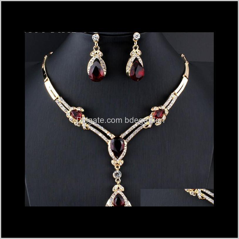 deisgner jewelry sets women wedding bridal accessories party gold-color jewelry african beads costume jewelry sets hot fashion