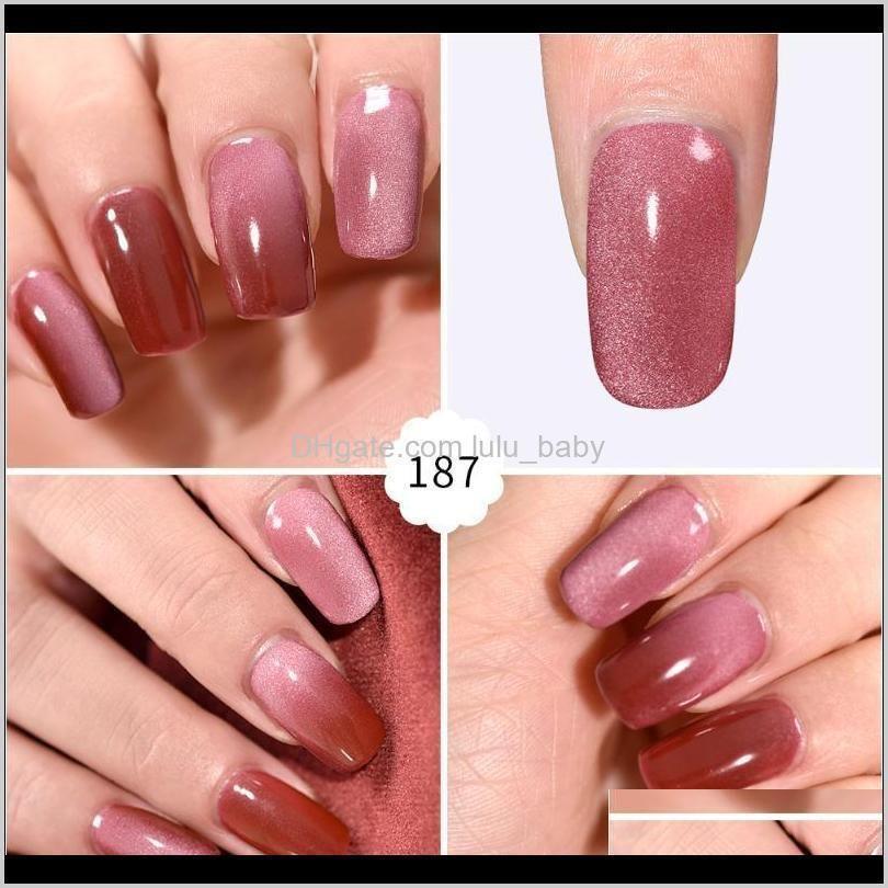 7ml meteorite wide cat eye nail gel polish uv gel lacquer varnish soak off manicure nail art polish glue nails
