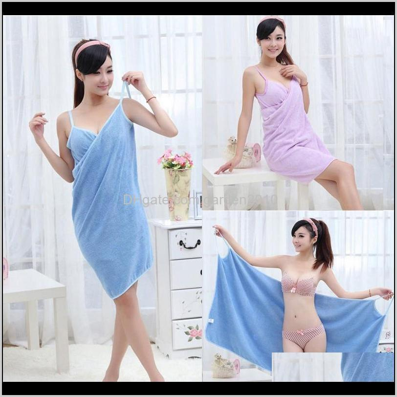 new home textile towel women robes bath wearable towel dress womens lady fast drying beach spa magical nightwear sleeping