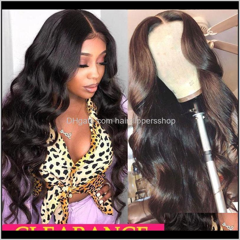 180% brazilian body wave lace front human hair wigs t part transparent wavy lace frontal wigs remy brazilian hair