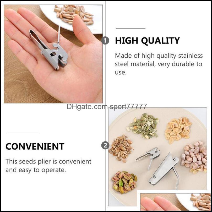 Pcs Stainless Steel Peanut Pistachio Sheller Pine Nut Craft Tools