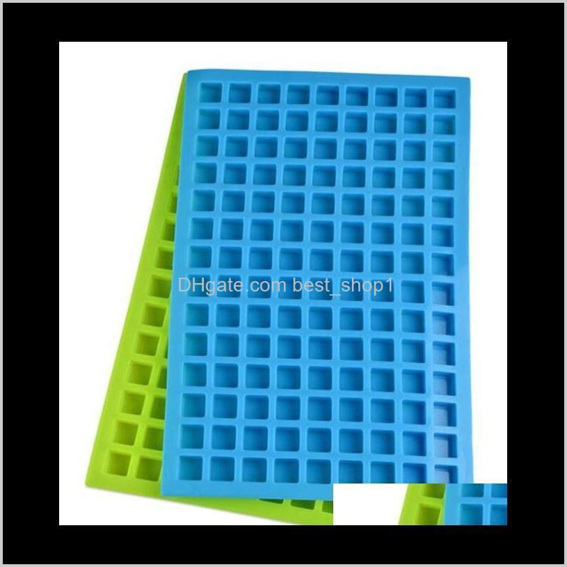 silicone molds ice cube maker diy 126cavity ice molds tools candy mold for chocolate cake cube tray home fruit smoothie bar tool