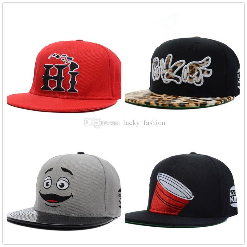 18 Styles New Fashion Snapback Cap Baseball Hat Men Women Casquette ... 51cafb267c0e