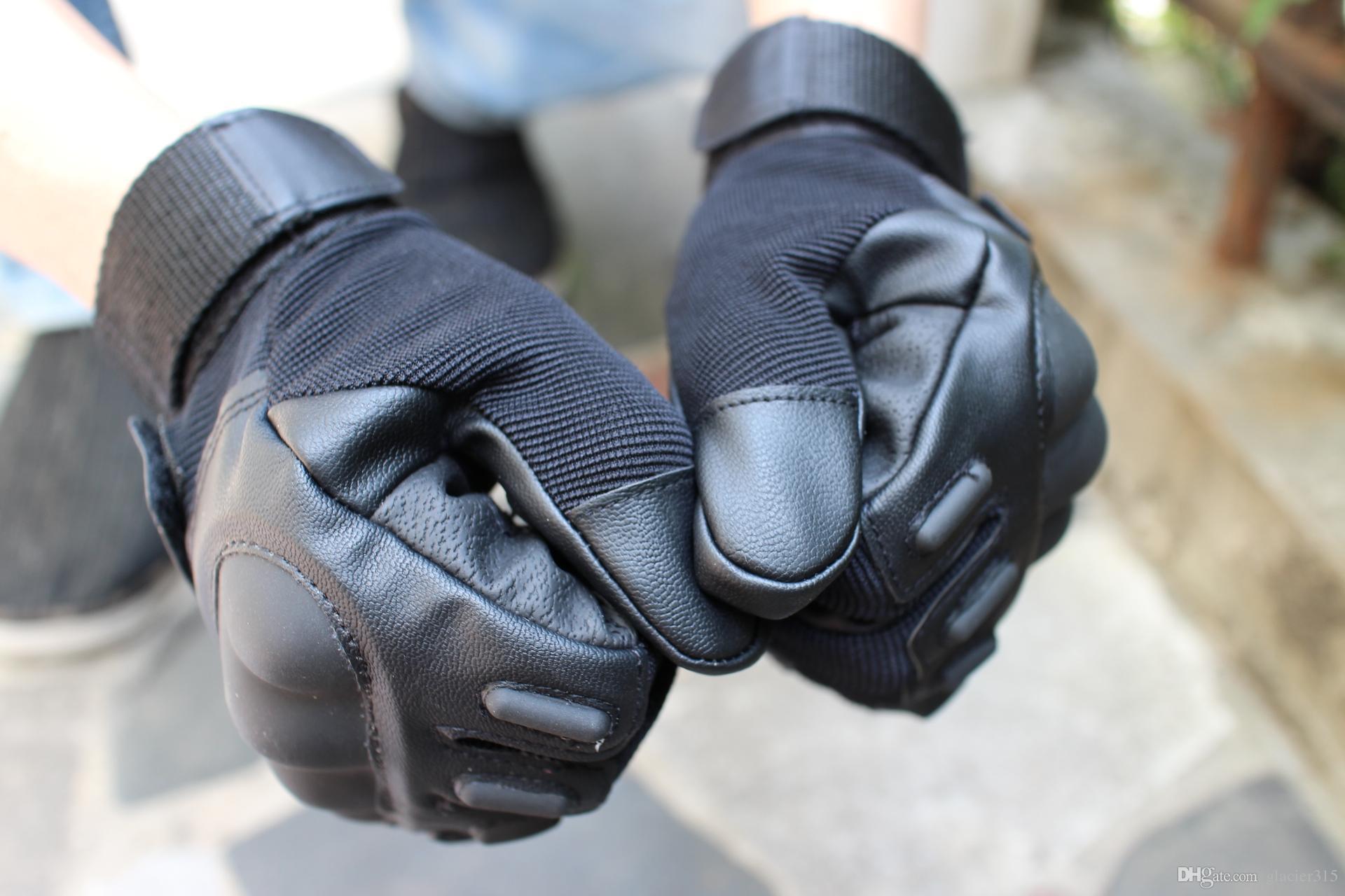 Trasporto libero nuova vendita di alta qualità guanto di marca dito pieno tiro tattico militare ciclismo caccia campeggio sport all'aperto gioco guanti