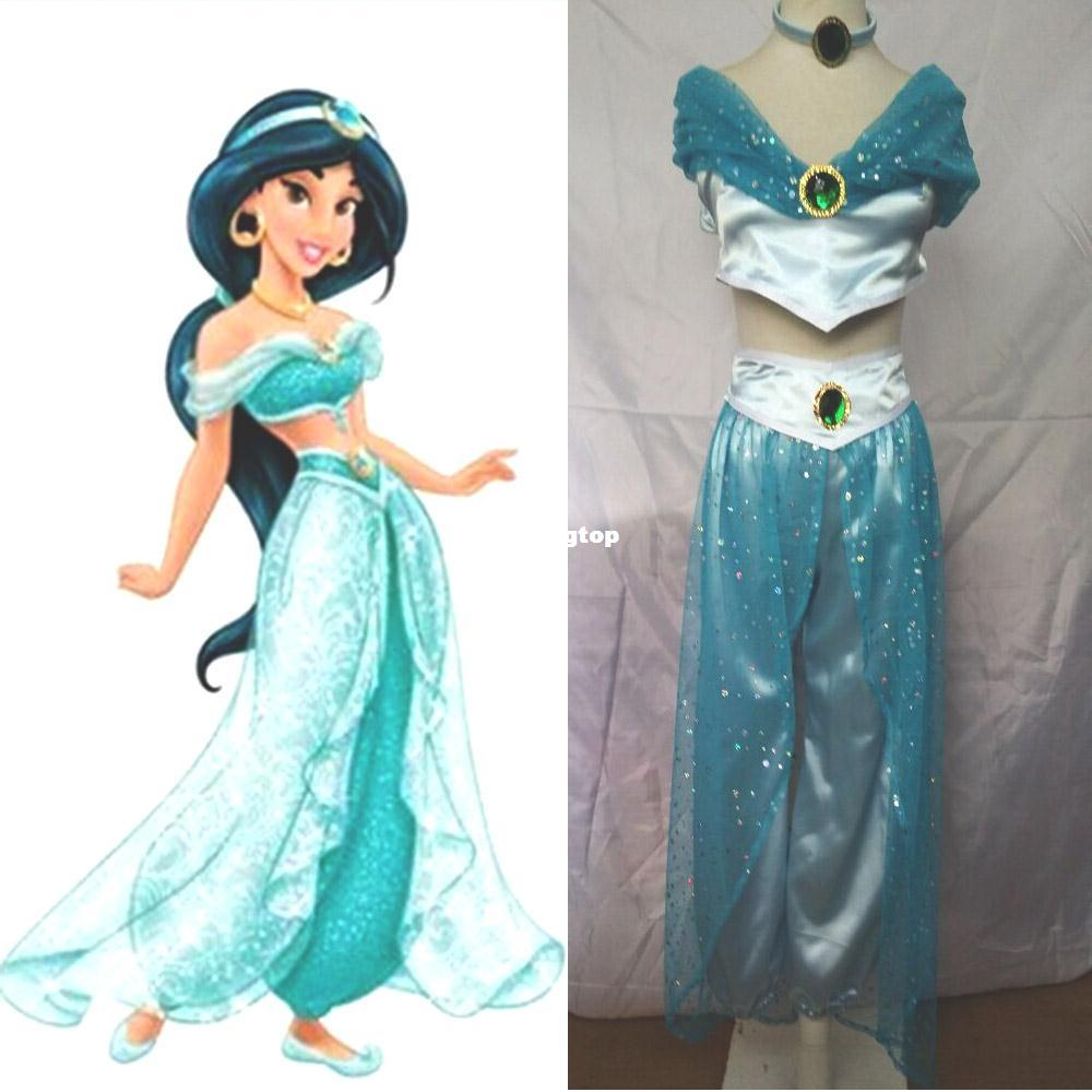 cosplay 1510 new 2016 princess jasmine costume halloween. Black Bedroom Furniture Sets. Home Design Ideas