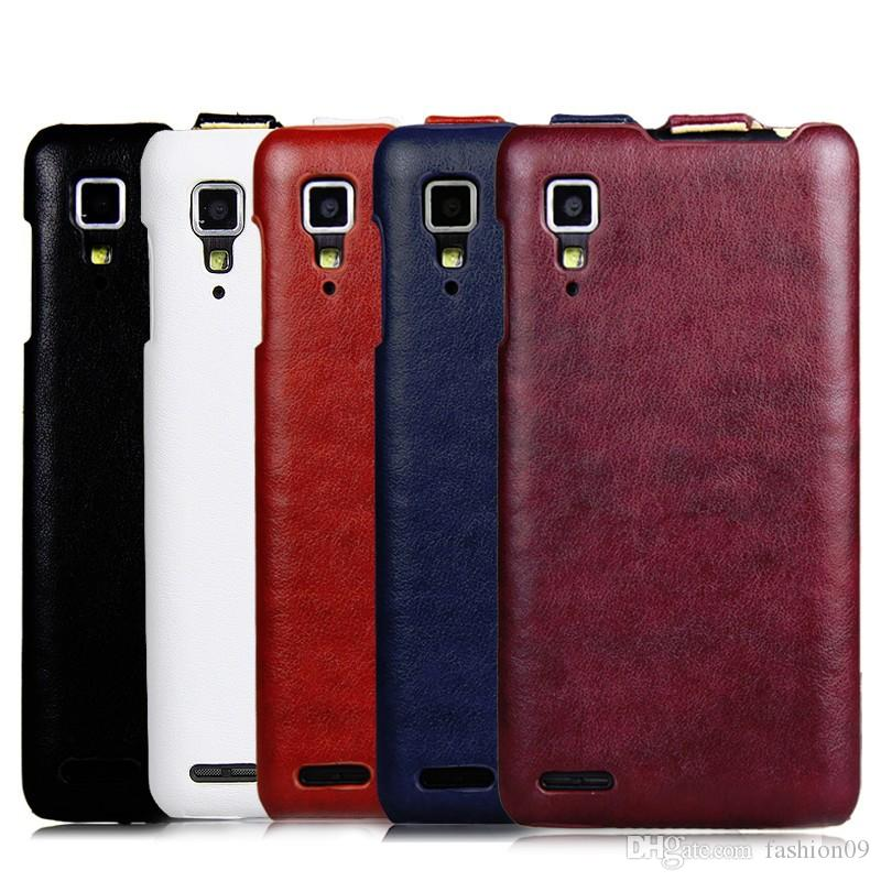 new styles 66f03 c7e72 100% original leather case for Lenovo P780 Vertical Flip Cover Mobile Phone  Bags & Cases Accessories Wholesale Free Shipping