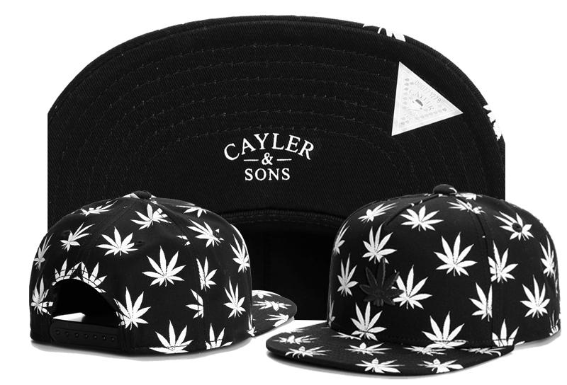 New Designer Black Cayler & Sons Snapback Hats Popular Basketball Snapbacks Hip Hop Adjustable Caps Men Woman Summer Adult Caps TYMY 369