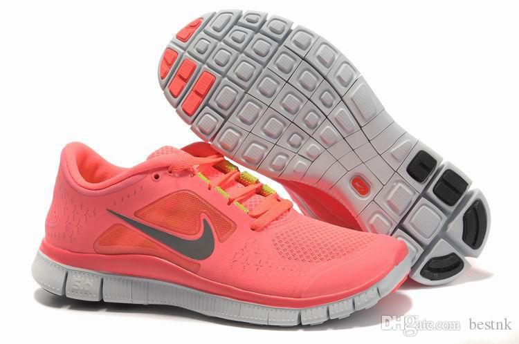 Compre 2015 Zapatillas Nike De Recorrido Libre 5.0 Mujeres Deportivos Zapatos Corrientes De Las Zapatillas De Deporte De Recorrido Libre Athletic