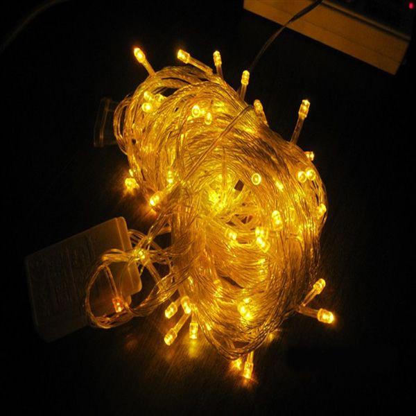 10 metre erkek kadın fiş ucu Noel ışıkları LED dize fiş flaş düğün LED ışıkları su geçirmez ışıkları tüm gökyüzü yıldız üzerinde