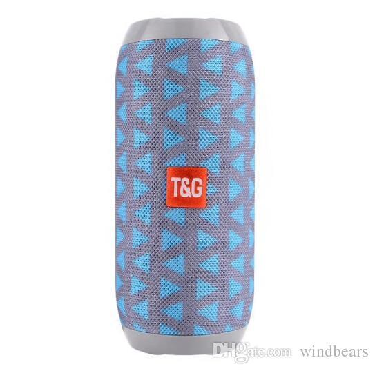 TG116 upgrade verion TG117 Bluetooth Portable Speaker Double Horn Mini Outdoor Portable Waterproof Subwoofers Wireless Speaker