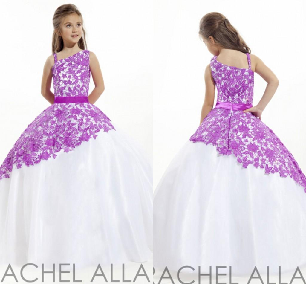Light Purple Flower Dresses