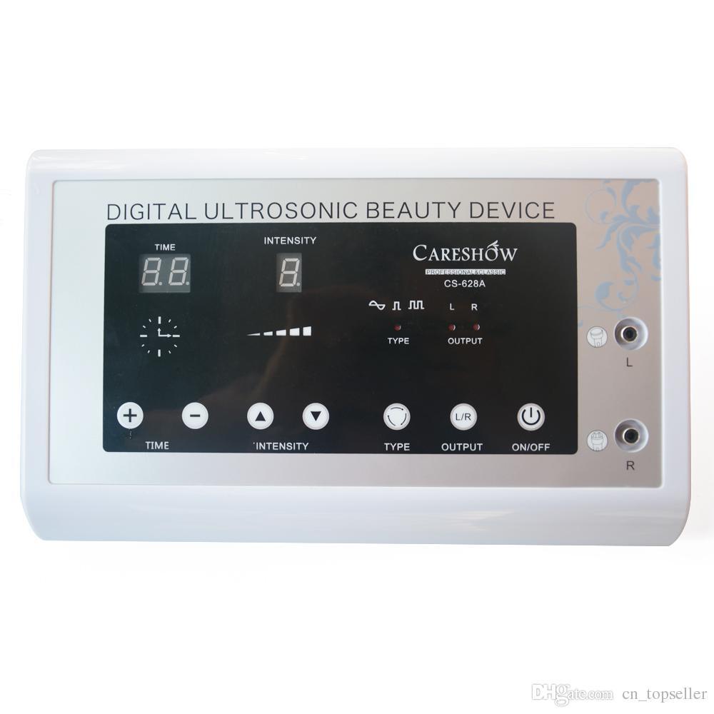 2en1 1.1MHz Ultrasonido Ultrasonido Retiro de piel Terapia corporal Rostro dispositivo de masaje Masaje facial Masajeador de piel facial